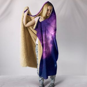 Galaxy Unicorn Paradise Hooded Blanket