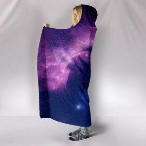 Galaxy Unicorn Paradise Hooded Blanket
