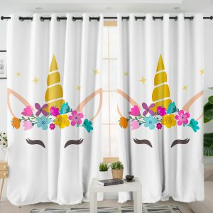 Unicorn Lash Curtains