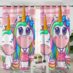 Best Unicorn Friends Curtains