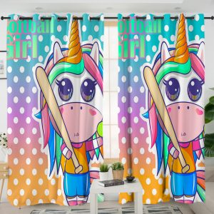 Sport Unicorn Curtains