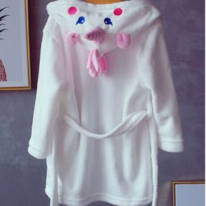 Pure White Unicorn Bathrobe