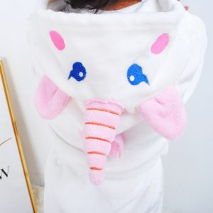 Pure White Unicorn Bathrobe