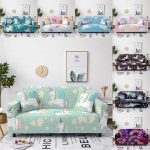 Stretchy Unicorn Sofa Slipcovers