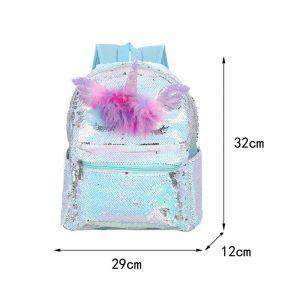 Dazzling Sequin Unicorn Backpack