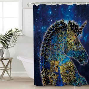 Believe In Unicorn Shower Curtain (Copy)