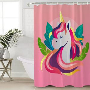 Beloved Unicorn Shower Curtain