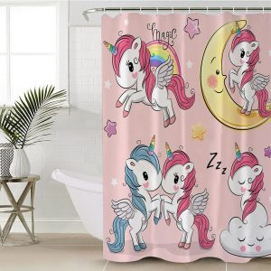 Beloved Unicorn Shower Curtain (Copy)