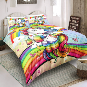 Christmas Unicorn Lash Bedding Set (Copy)