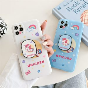 Cute Cartoon Unicorn Phone Case For iPhone