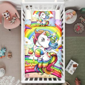 Dottie Elegant Unicorn Crib Bedding Set (Copy)
