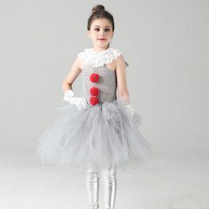 Girls Fancy Pennywise Tutu Dress