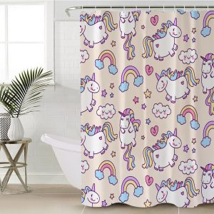 Kid Unicorn Shower Curtain (Copy)