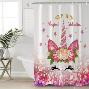 Magical 3D Unicorn Shower Curtain (Copy)