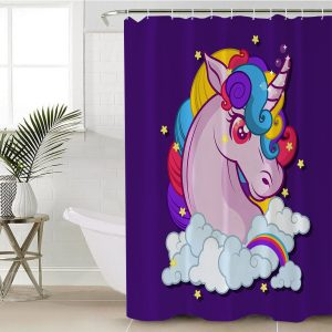 Magical Unicorn Shower Curtain (Copy)