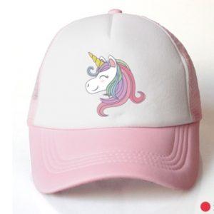 Pastel Pink Unicorn Cap