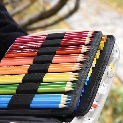 Pencil Case Holder Slot – Unicorn Large Capacity Pen Organizer