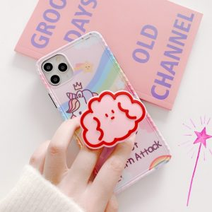 Rainbow Unicorn Protective iPhone Cases