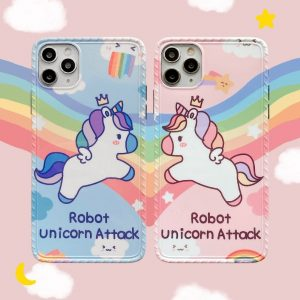 Rainbow Unicorn Protective iPhone Cases
