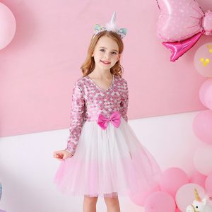 Toddlers Kid Girl Princess Lace Tulle Dress