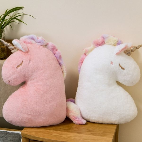 Unicorn Doll Soft Fluffy Cushion