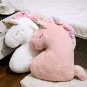 Unicorn Doll Soft Fluffy Cushion