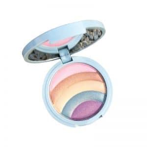 Unicorn Five-Color Rainbow HighLighter Eyeshadow Powder