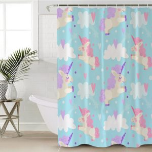 Unicorn Friendship Shower Curtain (Copy)