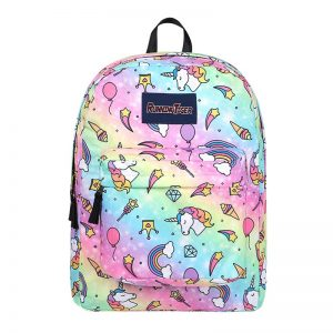 High-quality Rainbow Unicorn Star Backpack