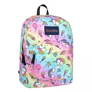 High-quality Rainbow Unicorn Star Backpack
