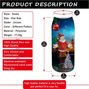 Cotton Christmas Socks – Best Xmas Gift