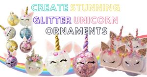 10+ DIY Unicorn Ornaments – Easy Tutorial