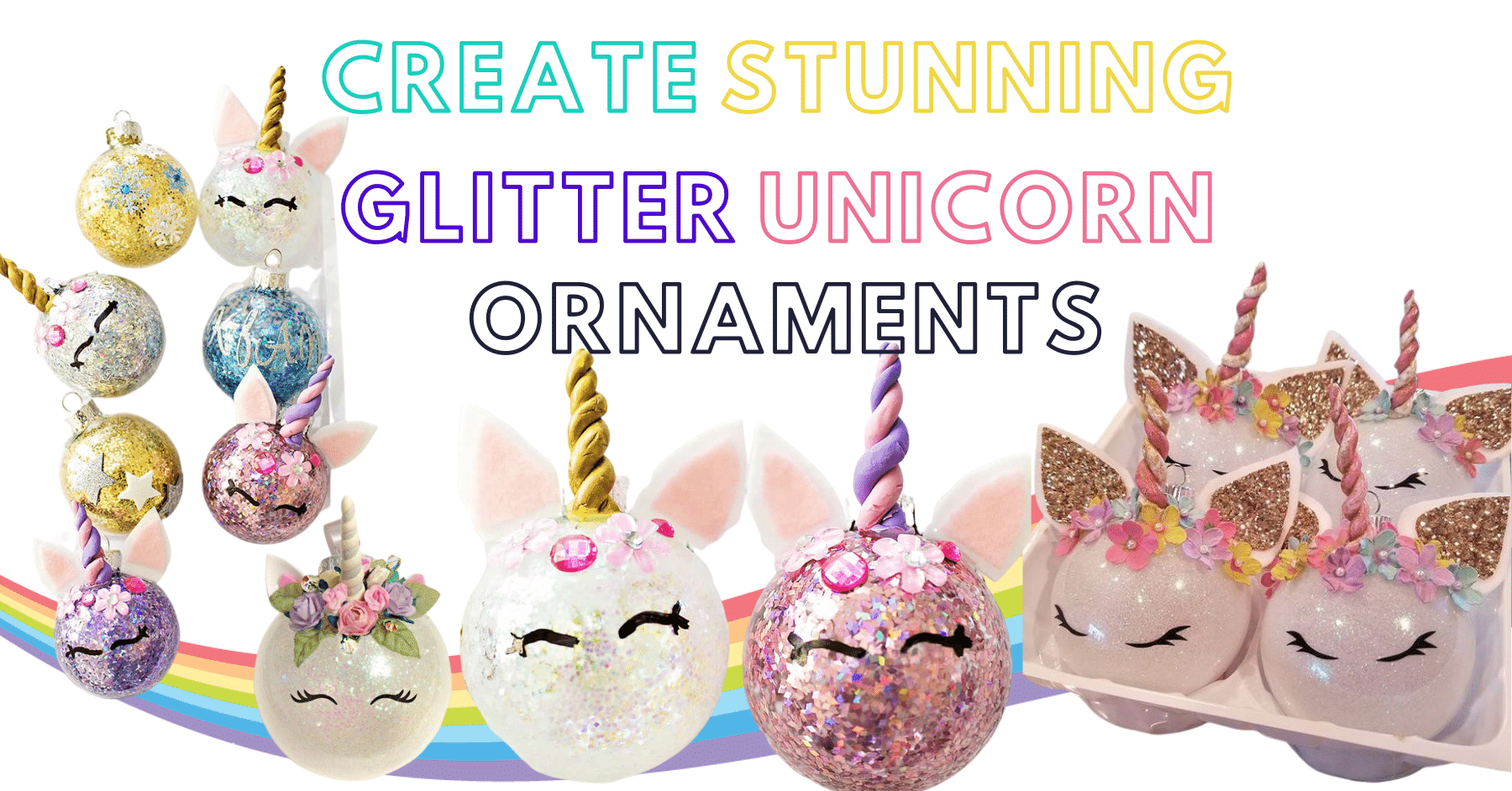 10+ DIY Unicorn Ornaments – Easy Tutorial