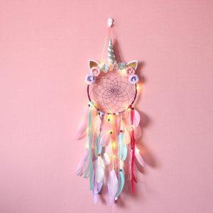 LED Glowing Unicorn Dream Catcher Ornaments