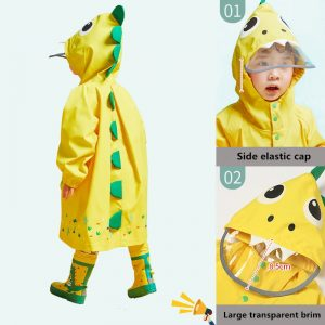 Unicorn Baby Waterproof Raincoat For Children