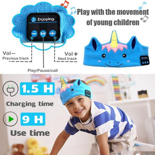 Unicorn Bluetooth Wireless Sleeping Music Player