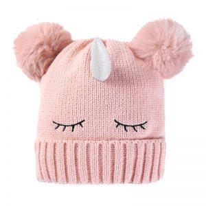Unicorn Fluffy Winter Beanies Hat
